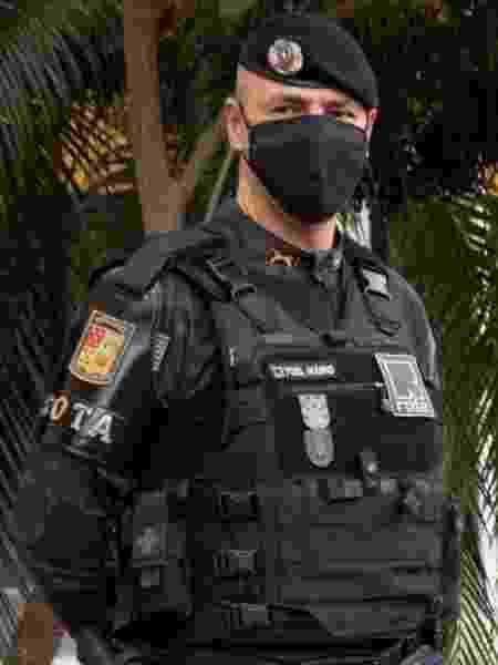 Tenente-coronel Mário Alves da Silva Filho comandou a Rota por um ano - Reprodução