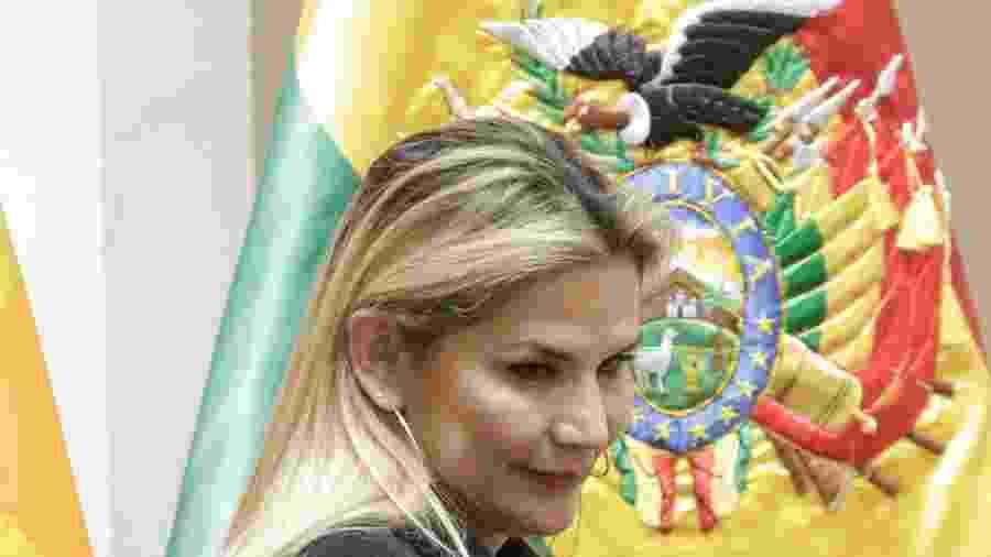 Presidente interina da Bolívia, Jeanine Áñez - David Mercado