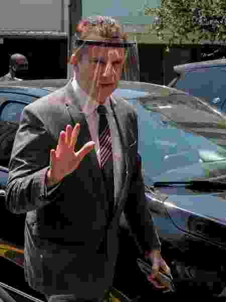 30. set. 2020 - Celso Russomanno (Republicanos) cumpre agenda de campanha em Pinheiros, na zona oeste de São Paulo - Suamy Beydoun/AGIF - Agência de Fotografia/Estadão Conteúdo