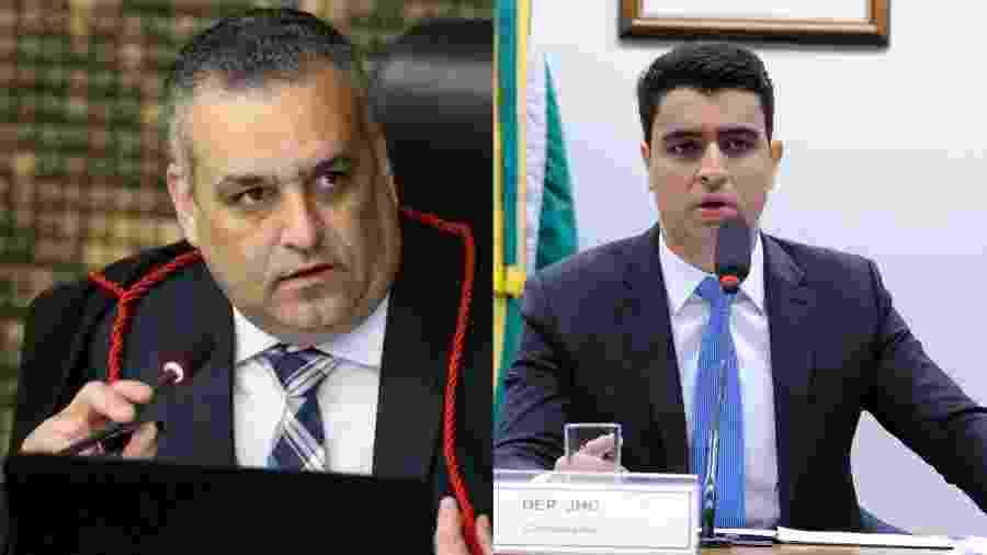 Alfredo Gaspar de Mendonça (MDB) e JHC (PSB), candidatos à prefeitura de Maceió - Divulgação/MP-AL e Cleia Viana/Câmara dos Deputados