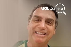Vídeo de Bolsonaro para curso que exalta violência é anterior à Presidência (Foto: Arte UOL)