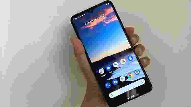 Nokia 5.3 - frente do celular - Tilt - Tilt