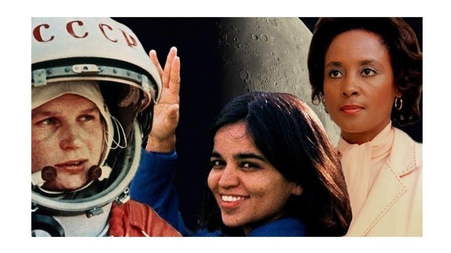 Valentina Tereshkova, Kalpana Chawla e Annie Jean Easley têm crateras lunares com o seu nome - Getty Images