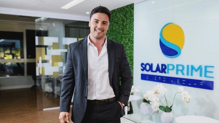 Raphael Brito criou a Solarprime, em 2015; empresa tem sede em Campinas (SP) - Divulgação
