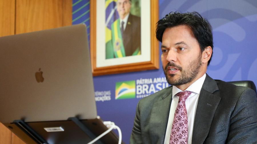Ministro das Comunicações, Fábio Faria - Cleverson Oliveira/Mcom