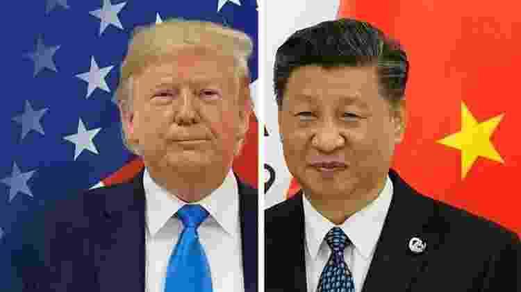 O confronto entre Donald Trump e Xi Jinping levou alguns a dizerem que havia uma 'guerra tecnológica' em andamento - Reuters - Reuters