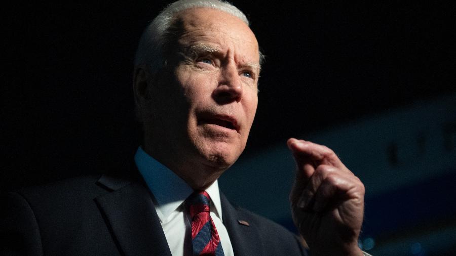 21.jul.2021 - Joe Biden, presidente dos Estados Unidos - Saul Loeb/AFP