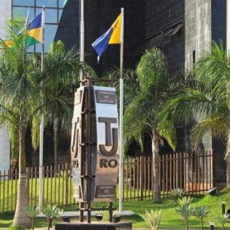Fachada do Tribunal de Justiça de Rondônia; servidora foi demitida por exame falso de gravidez - Reprodução/Facebook/TJ-RO