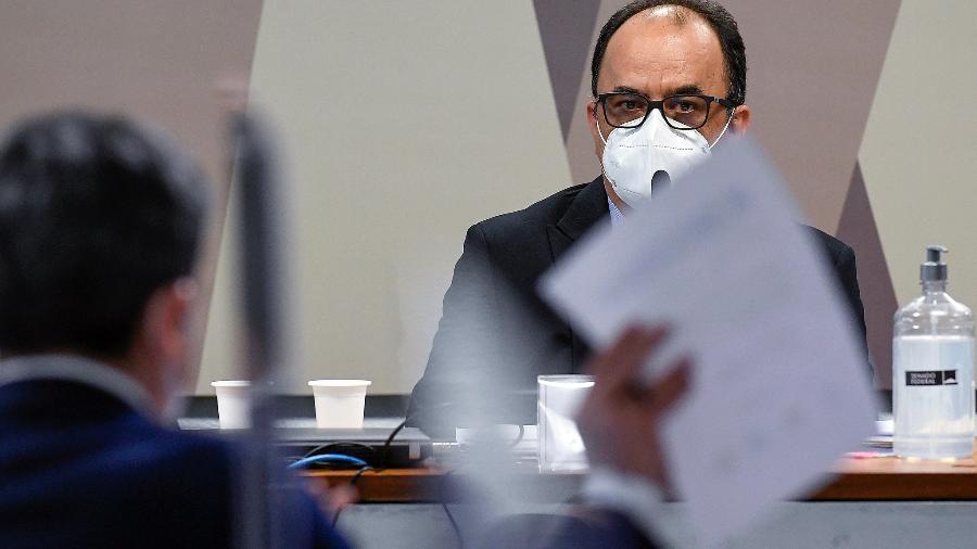 03.ago.21 - Reverendo Amilton Gomes de Paula em depoimento à CPI da Covid - Jefferson Rudy/Agência Senado
