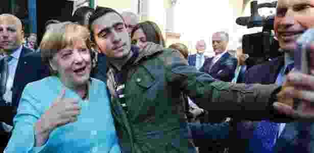 Merkel refugiado - Fabrizio Bensch/Reuters - Fabrizio Bensch/Reuters
