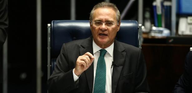 Durante questões de ordem, Renan descartou pedido de suspensão de processo