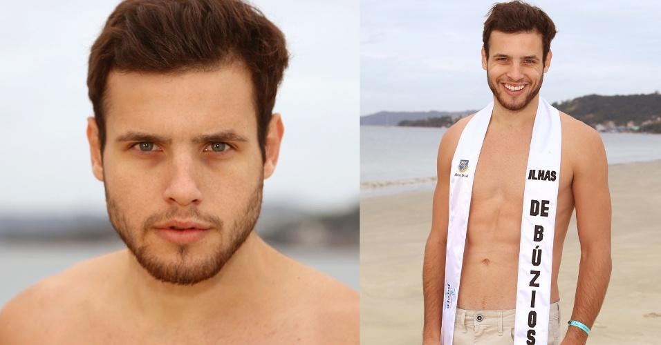 BÚZIOS - George Luis Vanzan Krever, 20, modelo