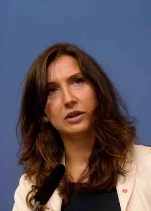 A ministra sueca Aida Hadzialic