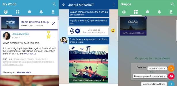 Rede social MeWe tem série de recursos gratuitos e pagos