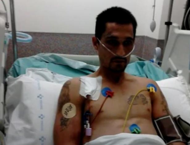 Gonzalo Montoya em imagem divulgada pela sua família