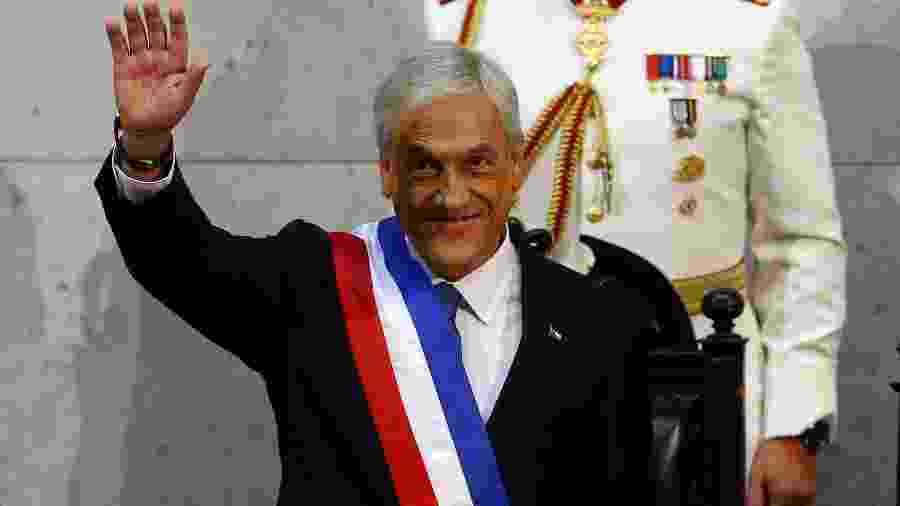 Sebastián Piñera, presidente do Chile - Ivan Alvarado/Reuters