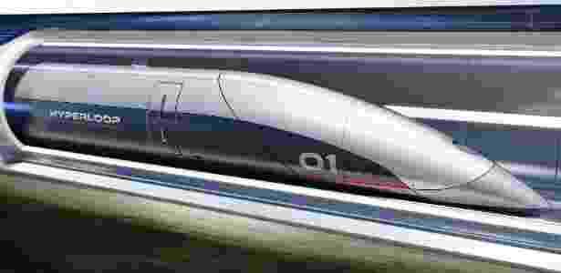 Conceito do que poderia ser o Hyperloop - Divulgação