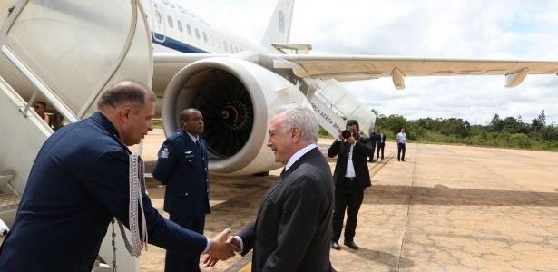 O presidente Michel Temer embarcou nesta sexta-feira (13) para o Peru, onde participa da VIII Cúpula das Américas