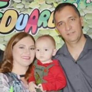 Paulo Sérgio Torquato salvou a mulher e o filho após acidente de carro