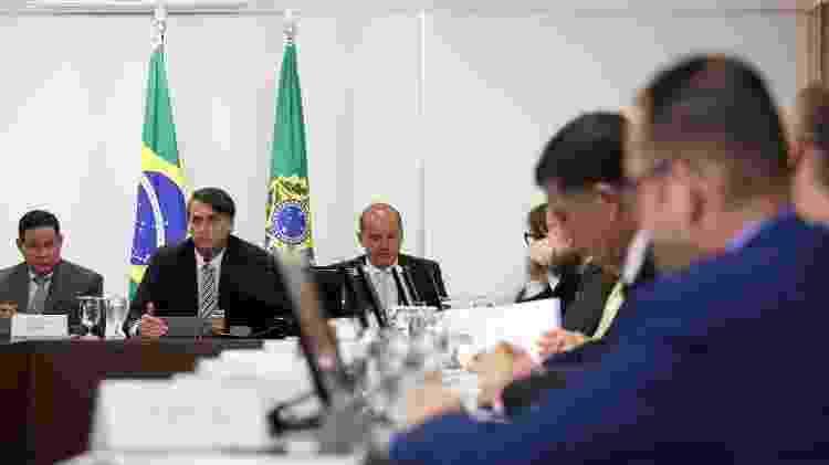 Jair Bolsonaro conduz reunião do Conselho de Governo - Marcos Corrêa/PR - Marcos Corrêa/PR