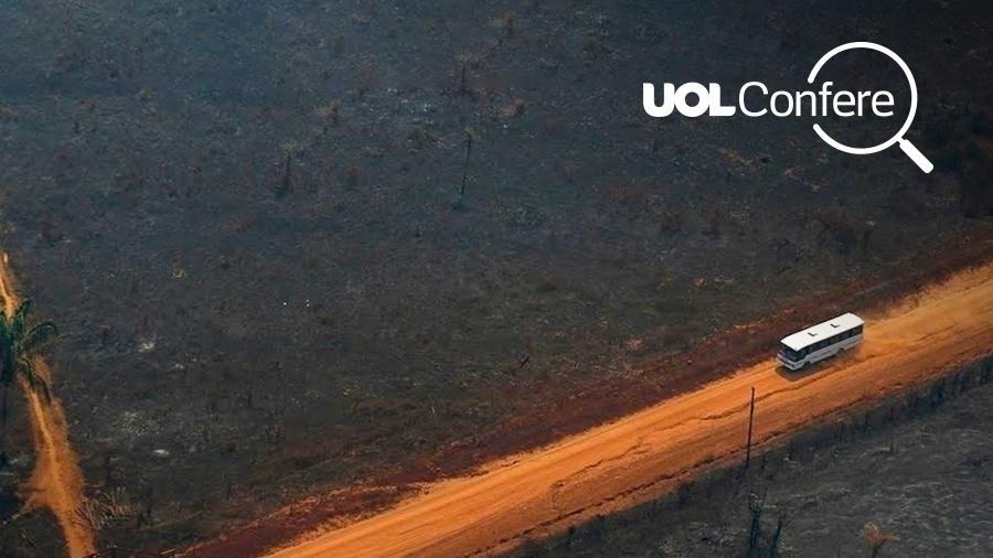 09756ff49 É falsa a notícia de que governo concluirá pavimentação de Transamazônica