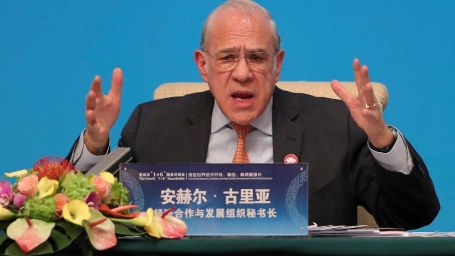 Angel Gurria, secretário-geral da Organização para a Cooperação e Desenvolvimento Econômico (OCDE) - Getty Images