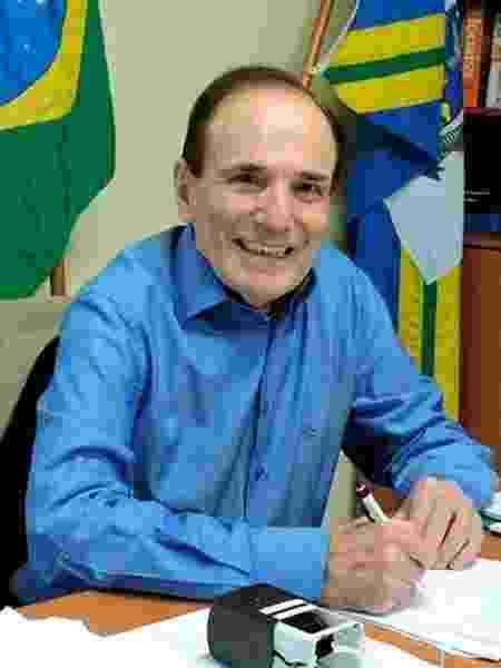 O ex-prefeito de Varginha (MG), Antônio Silva, do PTB - Divulgação/Prefeitura de Varginha