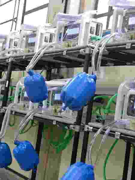 Respiradores são comumente usados para tratar pacientes com Covid-19 - Toyota/Divulgação