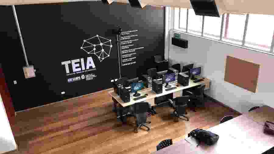 1º.nov.2019 - Unidade do Teia, coworking gratuito da prefeitura de São Paulo, em Cidade Tiradentes, na zona leste da capital paulista - Divulgação/Prefeitura de São Paulo