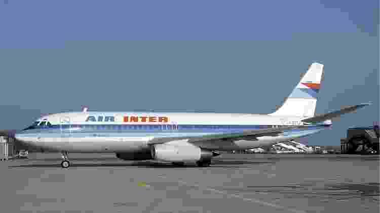 Air Inter foi a única companhia aérea a voar com o Dassault Mercure - Wikimedia - Wikimedia