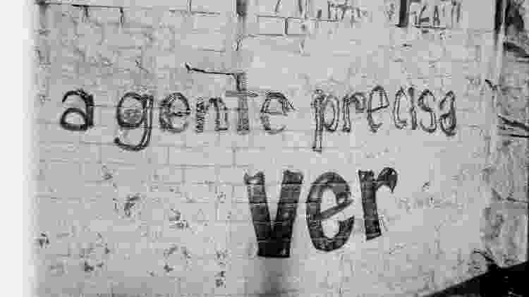 Muro na região da Cracolândia, no centro de São Paulo - Marcos Gomes - 12.jun.2009/ Flickr - Marcos Gomes - 12.jun.2009/ Flickr