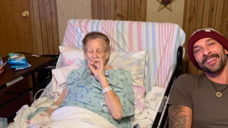 Jeremiah Pollock afirma que fumou maconha com a avó antes dela falecer de câncer  - Reprodução/Facebook/Jeremiah Pollock