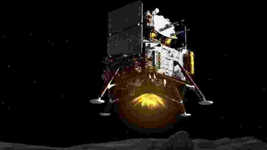 A missão espera coletar alguns quilos de materiais de superfície - CNSA