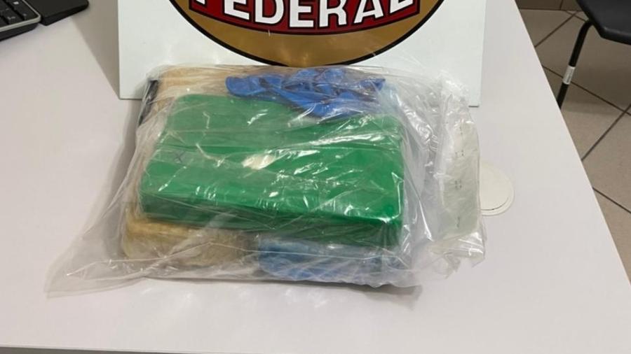 Remetente da droga era do estado do Acre - Polícia Federal/Divulgação