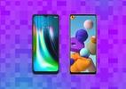 Moto G9 Play x Galaxy A21s: qual o melhor básico para você? (Foto: Reprodução)