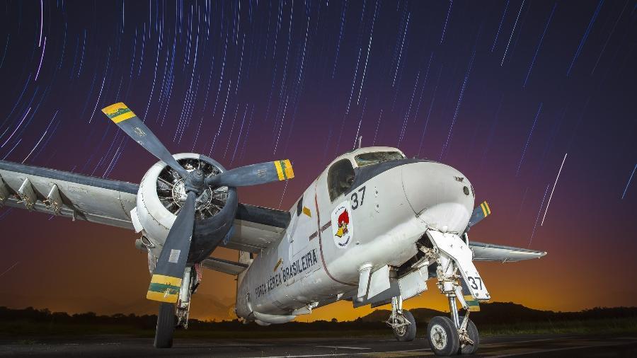 Grumman P-16 Tracker em exposição no Musal, no Rio de Janeiro - Sargento Johnson Barros/Força Aérea Brasileira