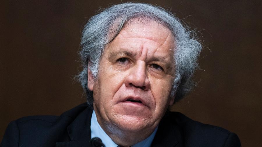 24.mar.2021 - Luis Almagro, secretário-geral da OEA (Organização dos Estados Americanos) - Tom Williams/CQ-Roll Call, Inc via Getty Images