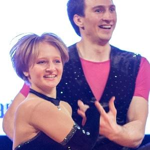 Katerina, filha de Putin, durante competição de dança - Jakub Dabrowski/Reuters