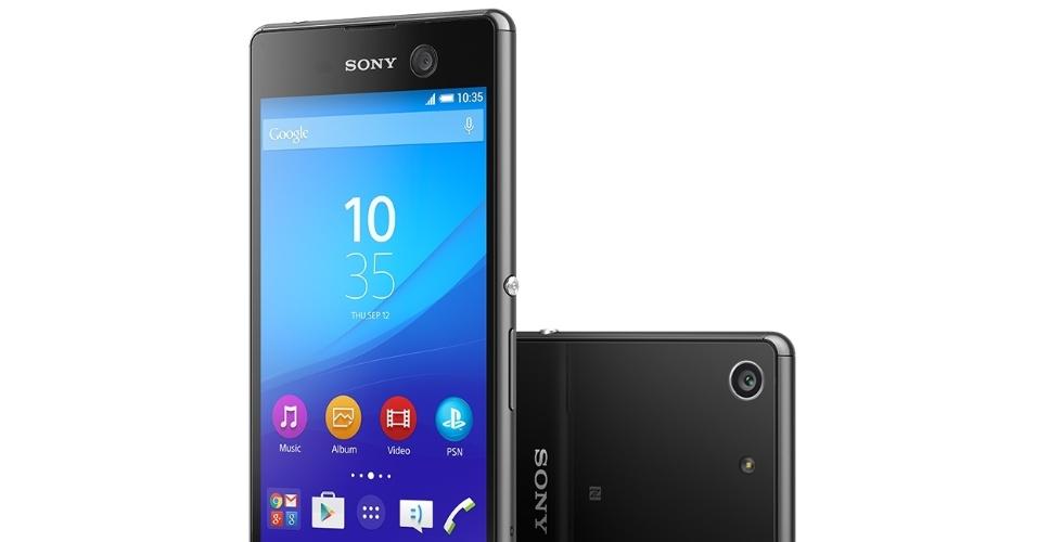 Sony Xperia M5 traz câmera para selfies de 13 MP e preço sugerido de R$ 2.599