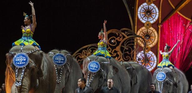 Elefantes do Ringling Brothers e Barnum & Bailey