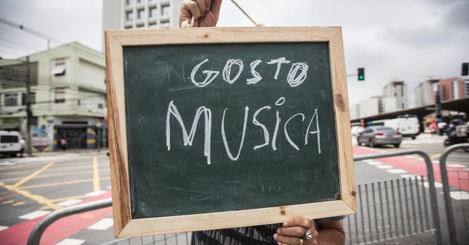 """""""São Paulo é uma cidade excepcional em opções musicais. De artistas nacionais, internacionais, das coisas mais comercias, do pop até os mais alternativos. Temos para todos os gostos"""""""