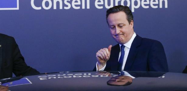 Primeiro ministro britânico, Cameron falou sobre renúncia de ministro em carta