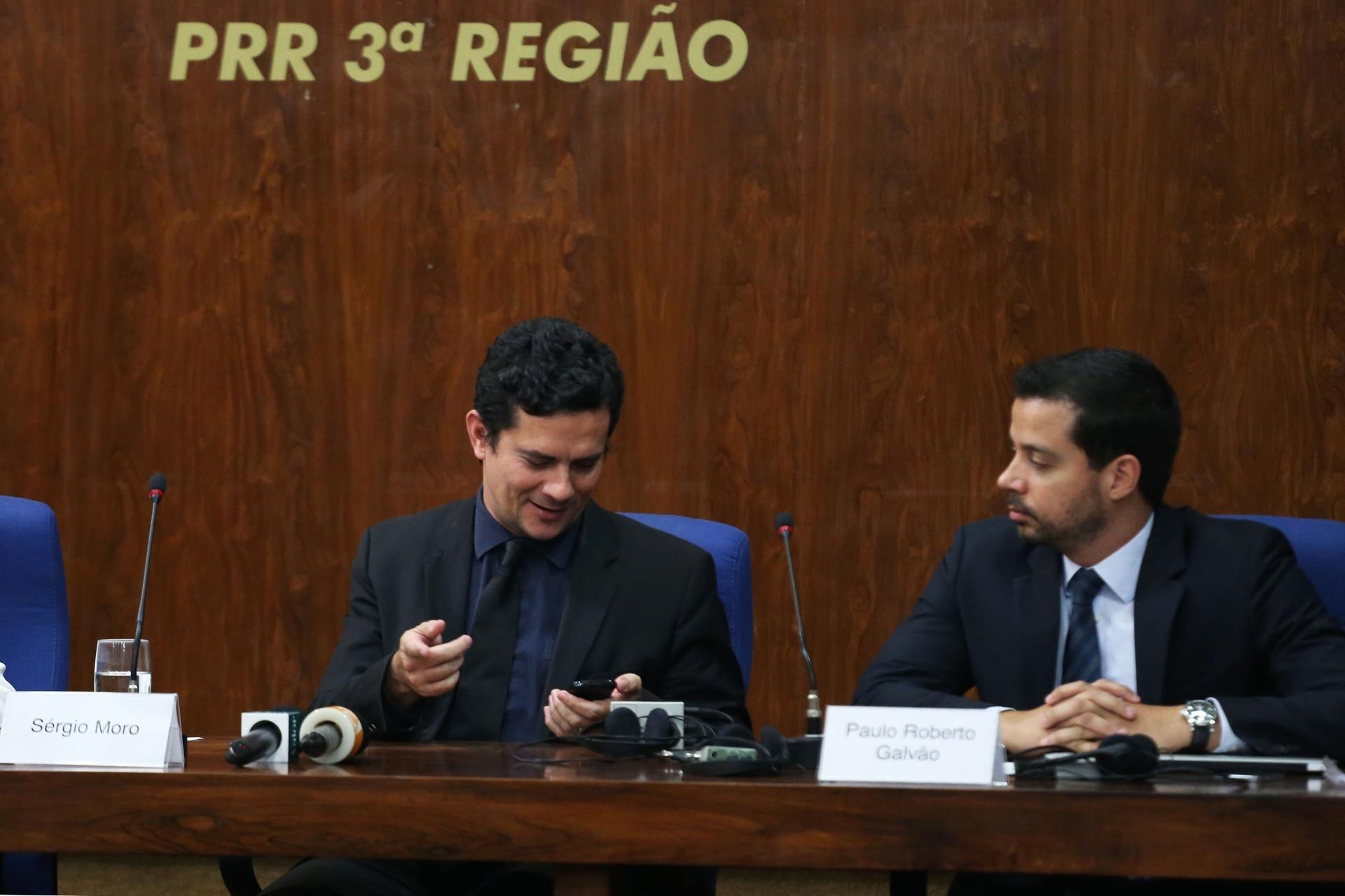 29.mar.2016 - Sérgio Moro participa do simpósio
