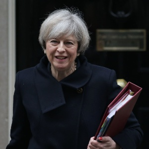 Theresa May, premiê britânica