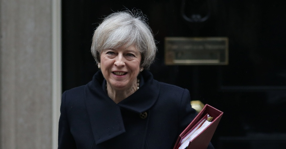 Theresa May, premiê britânica