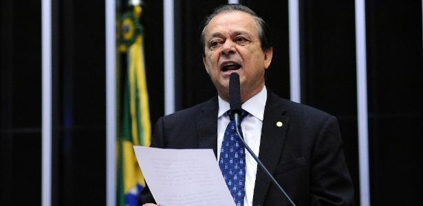 Leonardo Arantes é sobrinho do deputado federal Jovair Arantes (foto), líder do PTB na Câmara