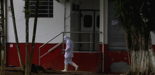20.mar.2017 - Inspeção sanitária em unidade da Peccin em Jaraguá do Sul (SC)