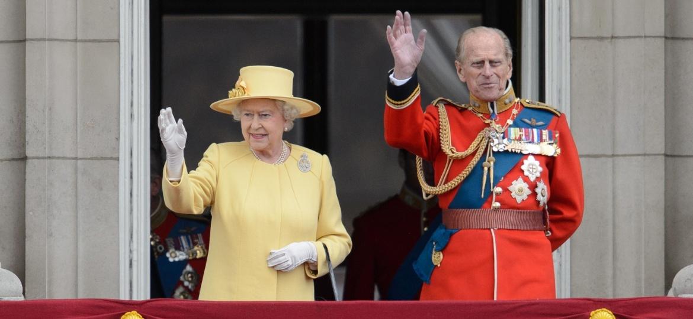 A rainha Elizabeth 2ª e o marido, príncipe Philip - Leon Neal/AFP Photo
