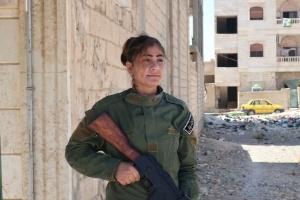 Após expulsar EI, EUA testam nova política em cidade síria (Foto: MICHAEL R. GORDON/NYT)