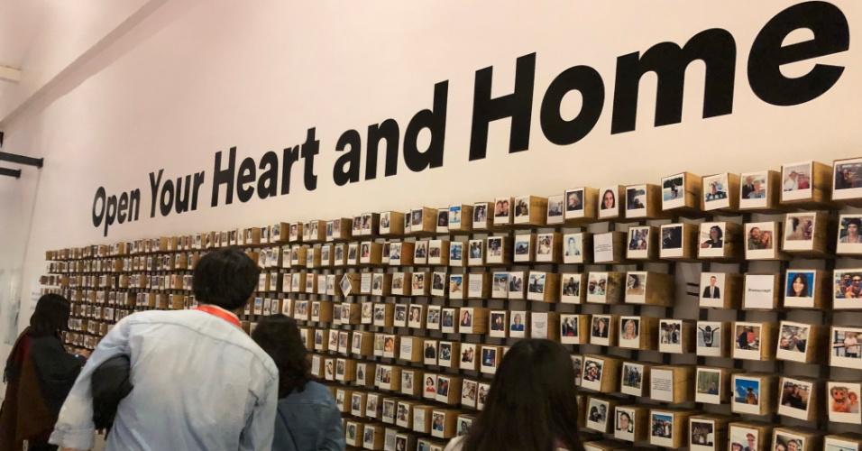 """""""Abra seu coração e sua casa"""""""